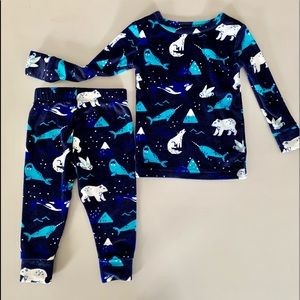 18mo. Sleepwear/ pajama set CAT&JACK - polar theme